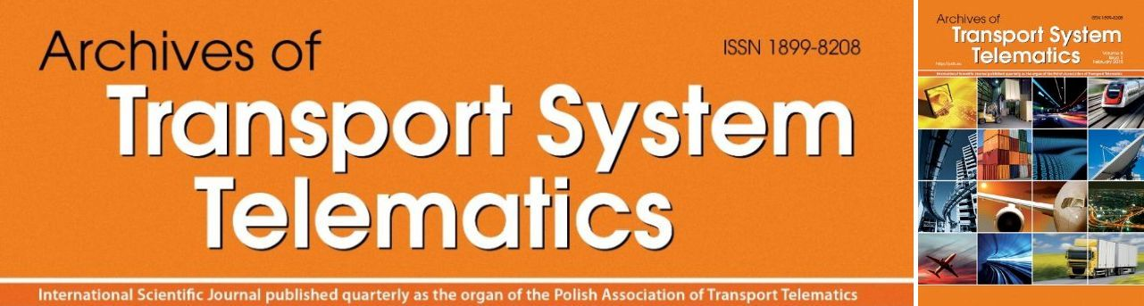 Archives of Transport Systems Telematics
